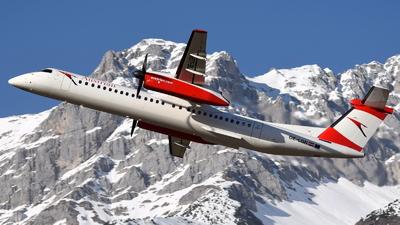 A picture of OELGN - De Havilland Canada Dash 8400 - Austrian Airlines - © Maximilian Gruber