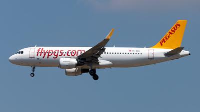 TC-DCG - Airbus A320-214 - Pegasus Airlines