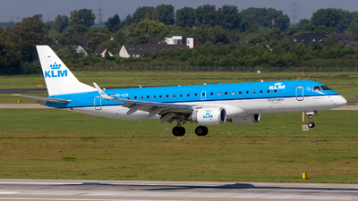 PH-EZS - Embraer 190-100STD - KLM Cityhopper