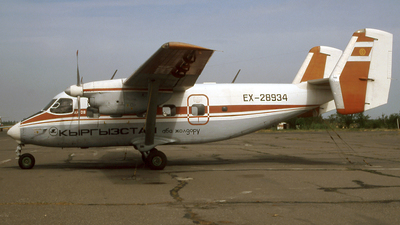 EX-28934 - PZL-Mielec An-28 - Kyrgyzstan Airlines