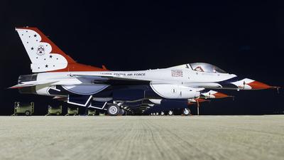 92-3881 - Lockheed Martin F-16C Fighting Falcon - United States - US Air Force (USAF)