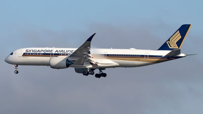 9V-SJA - Airbus A350-941 - Singapore Airlines