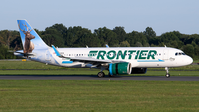 A picture of N370FR - Airbus A320251N - Frontier Airlines - © Cary Liao