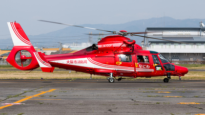 JA100F - Eurocopter AS 365N3 Dauphin - Japan - Osaka Municipal Fire Department