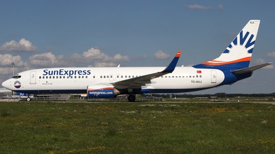 TC-SUJ - Boeing 737-8CX - SunExpress