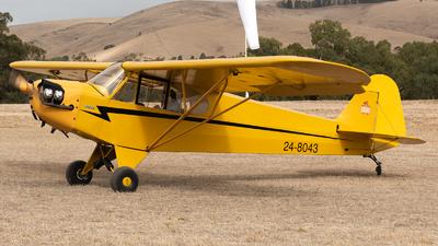 24-8043 - Piper J-3C-65 Cub - Private
