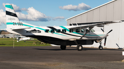 ZK-SDD - Cessna 208B Grand Caravan - Barrier Air