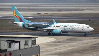 B-6268 - Boeing 737-8LP - Urumqi Air