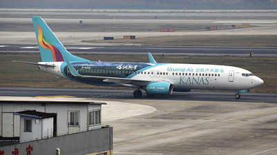 A picture of B6268 - Boeing 7378LP - Urumqi Airlines - © oneworld_Wang