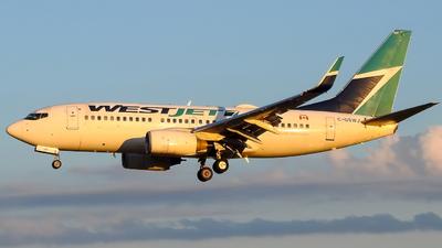 C-GSWJ - Boeing 737-7CT - WestJet Airlines