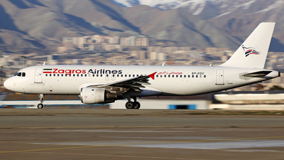 EP-ZGC - Airbus A320-212 - Zagros Airlines