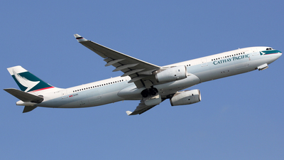 B-LBJ - Airbus A330-343 - Cathay Pacific Airways