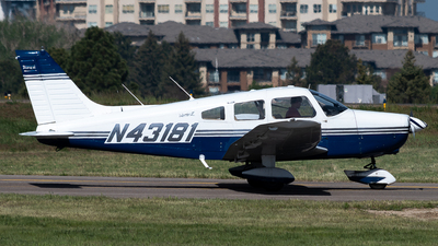 N43181 - Piper PA-28-151 Cherokee Warrior - Private