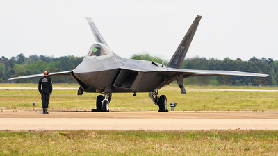 08-4166 - Lockheed Martin F-22A Raptor - United States - US Air Force (USAF)
