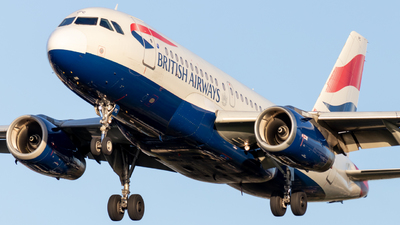A picture of GEUPC - Airbus A319131 - British Airways - © Egccarchie