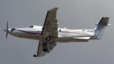 VH-WJA - Pilatus PC-12/47E - Private