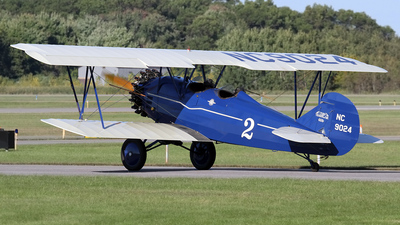 N9024 - Curtiss-Wright Travel Air 4000 - Private