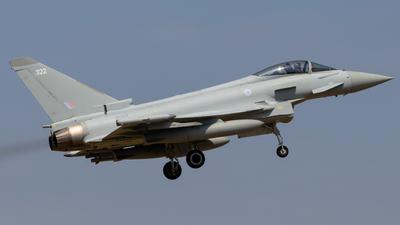 ZK322 - Eurofighter Typhoon FGR.4 - United Kingdom - Royal Air Force (RAF)