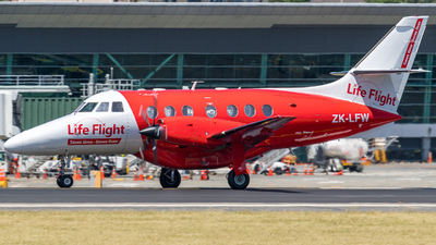 ZK-LFW - British Aerospace Jetstream 32 - Life Flight