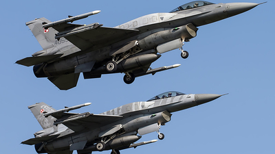 4055 - Lockheed Martin F-16C Fighting Falcon - Poland - Air Force