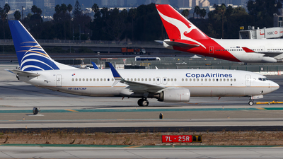 HP-1847CMP - Boeing 737-8V3 - Copa Airlines