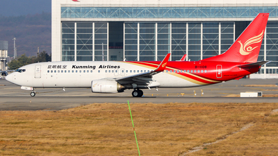 A picture of B1108 - Boeing 7378LY - Kunming Airlines - © ChengFJ