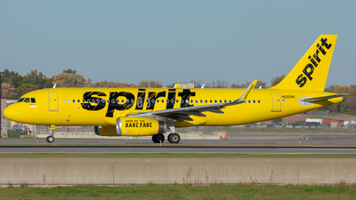 N695NK - Airbus A320-232 - Spirit Airlines