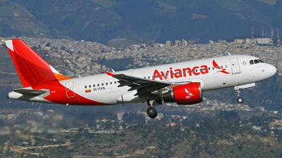 HC-CKN - Airbus A319-112 - Avianca Ecuador