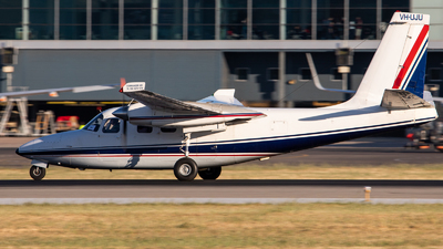 A picture of VHUJU - Aero Commander 500S - [3055] - © TommyNG