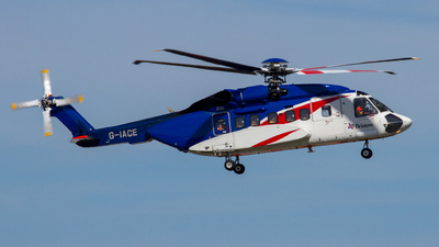 A picture of GIACE - Sikorsky S92A Helibus - Bristow Helicopters - © Gerrit Griem