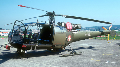 V-231 - Sud-Est SE.3160 Alouette III - Switzerland - Air Force