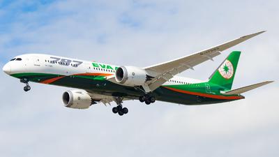 B-17882 - Boeing 787-9 Dreamliner - Eva Air