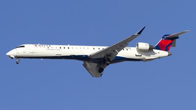 A picture of N803SK - Mitsubishi CRJ900LR - Delta Air Lines - © Jeremy D. Dando
