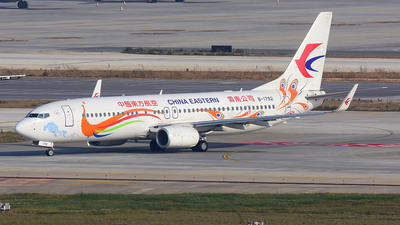 B-1792 - Boeing 737-89P - China Eastern Airlines