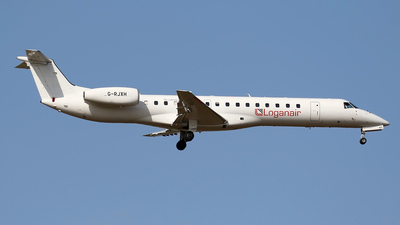 A picture of GRJXH - Embraer ERJ145EP - Loganair - © Nigel Fenwick