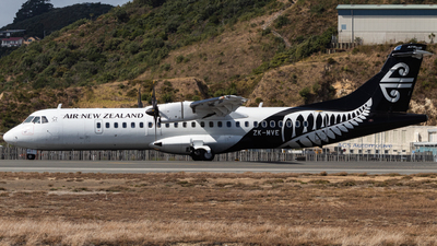 ZK-MVE - ATR 72-212A(600) - Air New Zealand