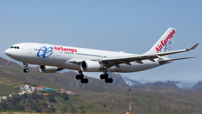 EC-JPF - Airbus A330-202 - Air Europa