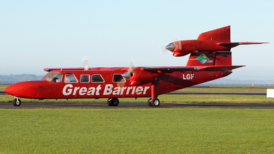 ZK-LGF - Britten-Norman BN-2A Mk.III-2 Trislander - Great Barrier Airlines
