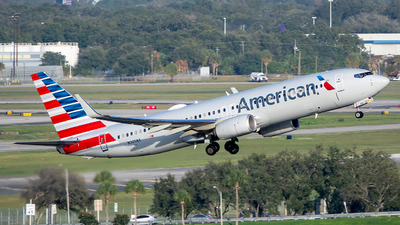 A picture of N305NX - Boeing 737823 - American Airlines - © Stephen J Stein
