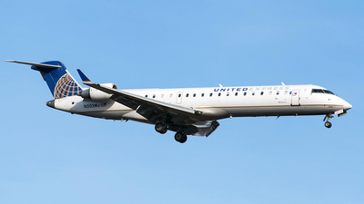 N505MJ - Bombardier CRJ-701 - United Express (Mesa Airlines)