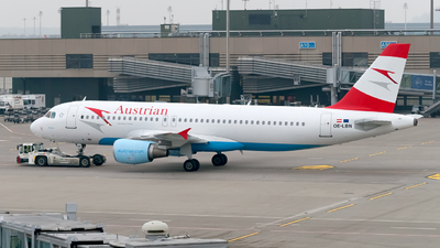 OE-LBN - Airbus A320-214 - Austrian Airlines (Tyrolean Airways)