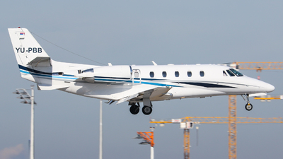 YU-PBB - Cessna 560XL Citation Excel - Air Pink