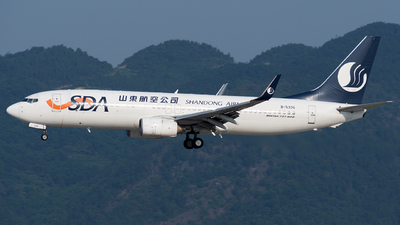 B-5336 - Boeing 737-8FH - Shandong Airlines