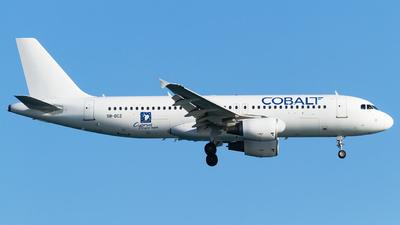 5B-DCZ - Airbus A320-214 - Cobalt Air