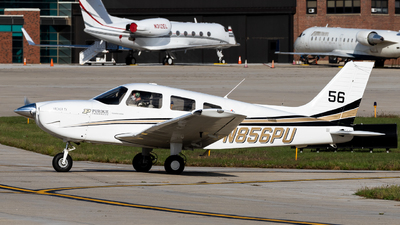 N856PU - Piper PA-28-181 Archer TX - Purdue University