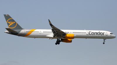 A picture of DABOG - Boeing 757330 - Condor - © Günter Reichwein