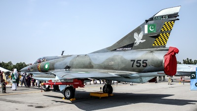 96-755 - Dassault Mirage 5VEF - Pakistan - Air Force