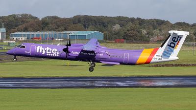 A picture of GFLBD - De Havilland Canada Dash 8400 - Flybe - © Ian Howat