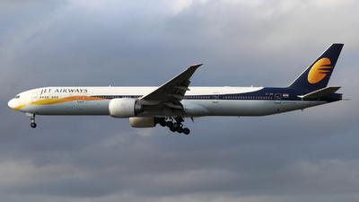 VT-JEW - Boeing 777-35RER - Jet Airways