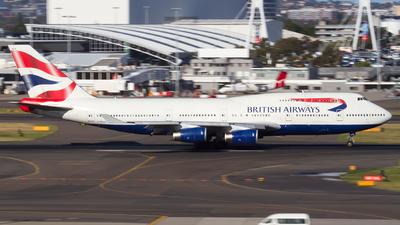 G-BNLR - Boeing 747-436 - British Airways